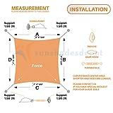 Sunshades Depot Quadrilateral  Set 6 Inches Super