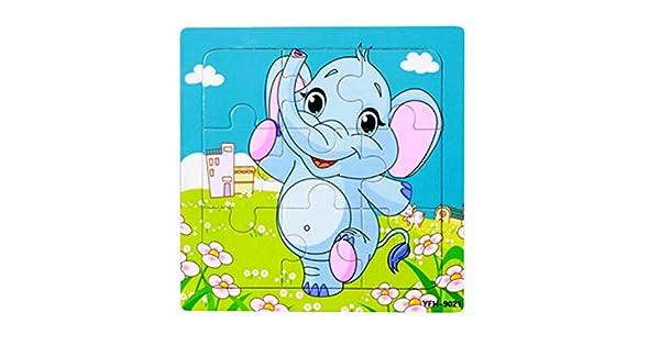 Amazon.com: Roysberry Toys – 9 piezas niños animales de ...