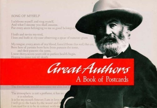 Books : Great Authors-Postcard Book