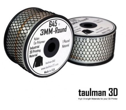 5 BOBINES DE FILAMENT Nylon Taulman 3D 645 en 1,75 mm