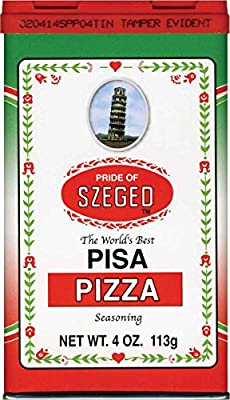 Szeged Pizza Seasoning in Tin, 4 Ounce