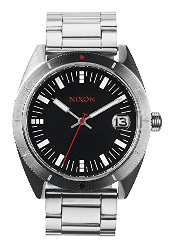 Nixon Men's A359-008 Rover SSII Black Stainless Steel ()