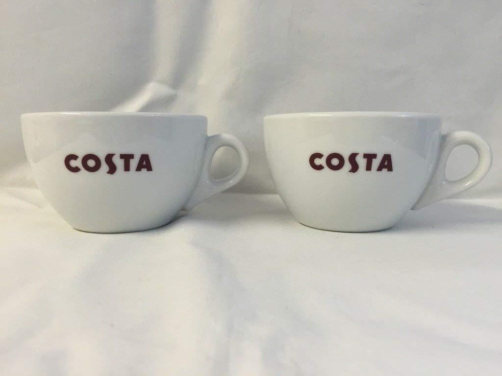 4b40604ed83 2 Pack Costa Coffee Small Primo Mugs Brand New: Amazon.co.uk: Kitchen & Home