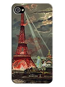 Diy iphone 5 5s case The Eiffel Japan Tower orange Background image Case for iphone 4/5 5S, Retail Packaging #4 orange on