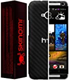 Skinomi® TechSkin - HTC One M7 Screen Protector + Carbon Fiber Full Body Skin / Front & Back Premium HD Clear Film / Ultra Invisible and Anti Bubble Shield with Free Lifetime Replacement