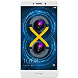 Smartphone Desbloqueado Huawei Honor 6X Dual Camera, 32GB Color Oro