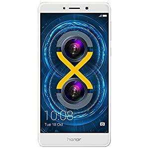 Huawei Honor 6X Dual Camera Unlocked Smartphone, 32GB Gold (US Warranty)