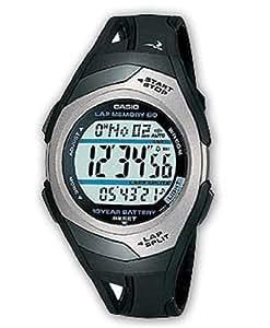 Casio STR-300C-1VER Mens PHYS Rubber Strap Digital Sports Watch