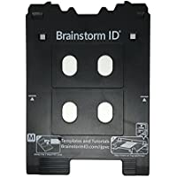Inkjet PVC Card Tray for Canon PIXMA TS8020 and TS9020 (Canon M Tray Printers) by Brainstorm ID