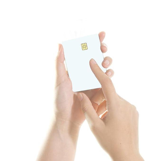1x Sle4442 Blanco Memory Chipkarte Id Kartenrohling