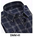stewarted dress 2019 Winter Flannel Casual Shirt Men Shirts Long Sleeve Chemise,L40,Dm41