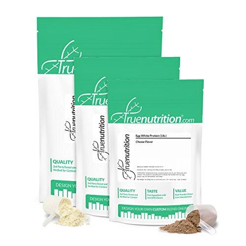 Cheap True Nutrition Egg White Protein Vanilla 1 lb.