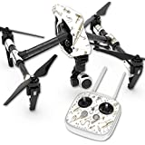 Skin For DJI Inspire 1 Quadcopter Drone – Retro Lures   MightySkins Protective, Durable, and Unique Vinyl Decal wrap cover   Easy To Apply, Remove, and Change Styles   Made in the USA