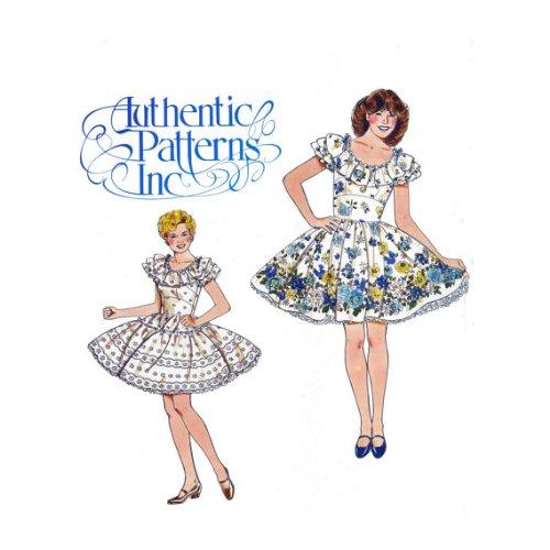 Square Dance Dress Pattern No. 321 - Size 6-8-10