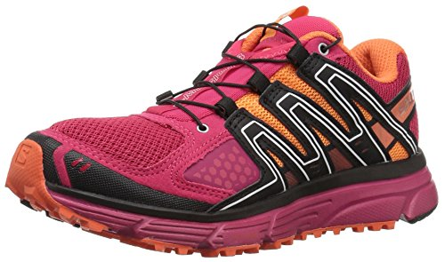 Salomon Women's X-Mission 3 W Trail Running Shoe, Virtual Pink, 10 M US