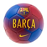 Nike Barcelona Prestige Soccer Ball (Sz. 5) Game Royal, Prime Red