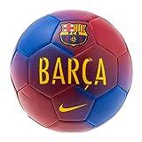 Nike Barcelona Prestige Soccer Ball (Sz. 5) Game Royal, Prime Red