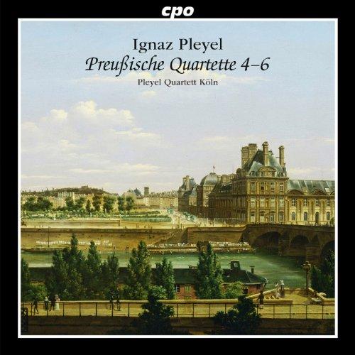 - Pleyel: Prussian Quartets 4-6
