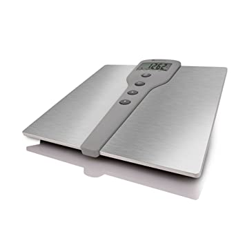 Merveilleux Detecto D220 Stainless Steel LCD Digital Body Composition Scale