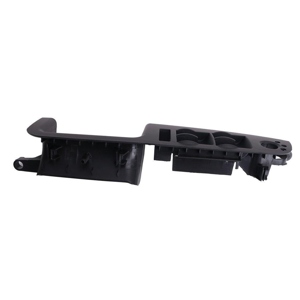 e-most negro mano izquierda conductor interruptor de la puerta frontal Panel embellecedor para Audi A4 S4 RS4 B6 B7 8e1867171b7pe: Amazon.es: Coche y moto