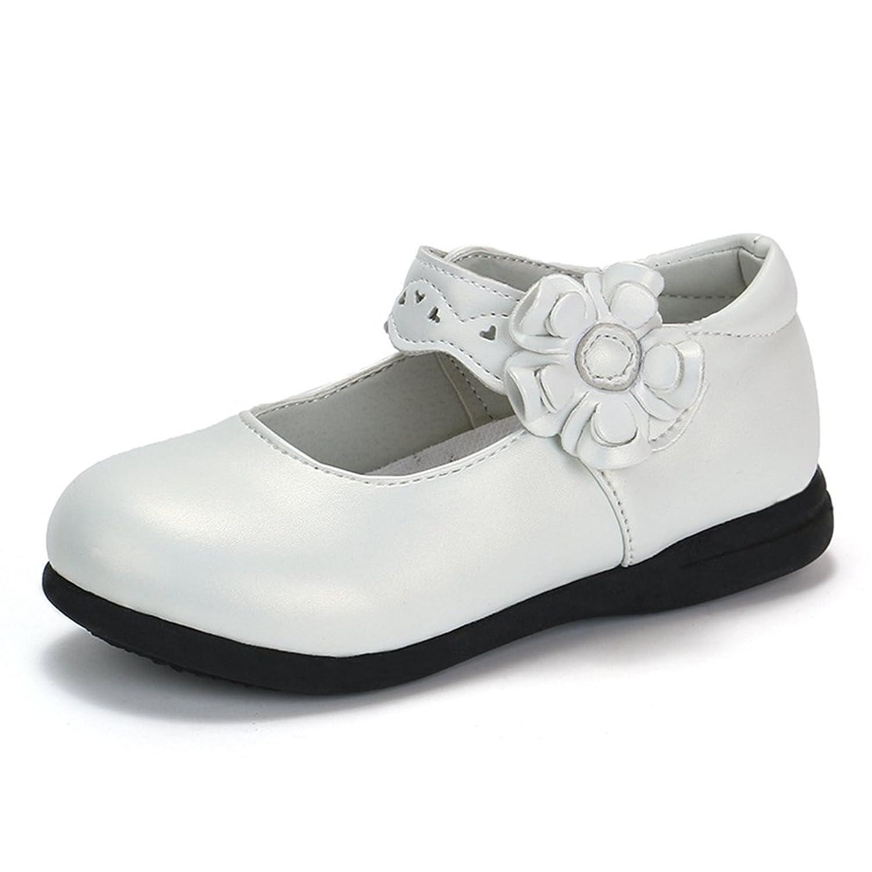CYBLING Kids Girl's School Uniform Mary Jane Ballet Flat Dress Oxford Shoe (Toddler/Little Kid)