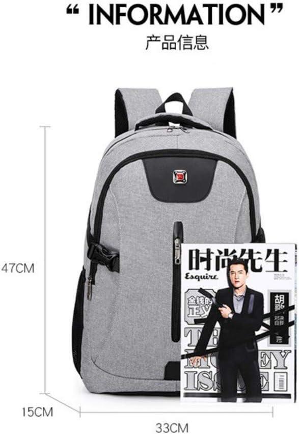 ZLK backpack Tissu Oxford /épaule pour Hommes de Couleur Contrastante /à Porter avec Un Sac de Chargement USB /à Porter