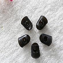 Guitar Fingertip Protectors Professional Silicone Finger Guards For Ukulele Random Color L(Pack Of 5)