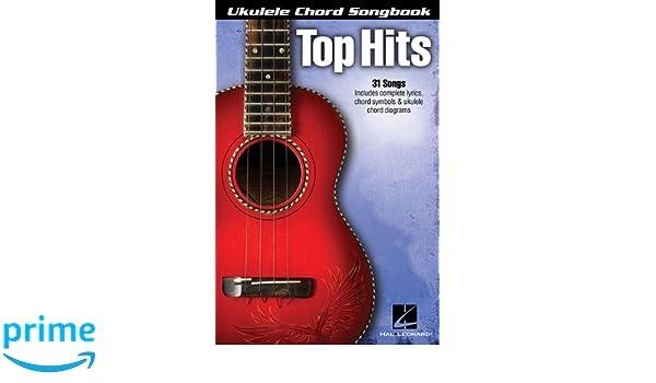 Amazon com: Top Hits: Ukulele Chord Songbook (Ukulele Chord