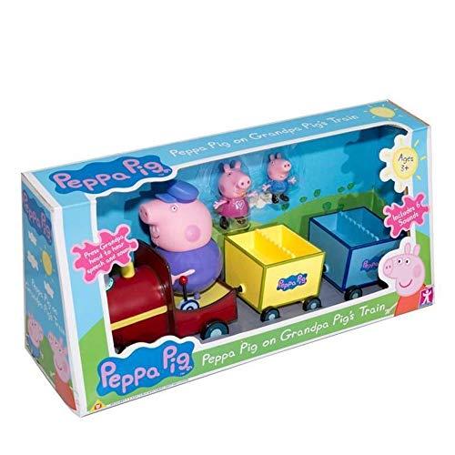 Peppa Pig On Grandpa's Train