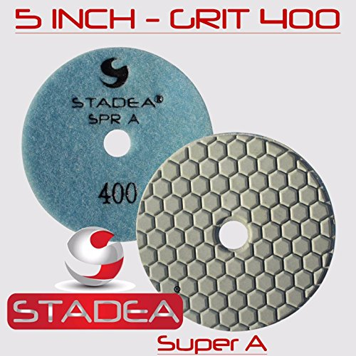 Stadea Diamond Polishing Pad Concrete - Granite Marble Floor Polishing 5