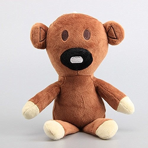 Bear Mr Plush Teddy Bean (Mr. Bean Plush 11.2 Inch / 28cm Teddy Bear Doll Stuffed Animals Figure Soft Anime Collection Toy)