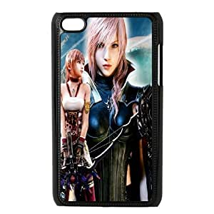 Personalized DIY Final Fantasy Custom Cover Case For Ipod Touch 4 P3B493534