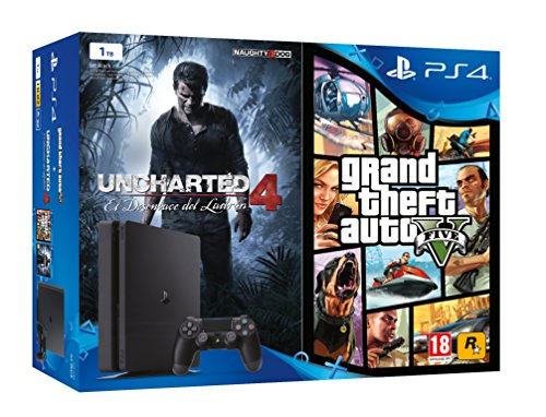Playstation 4 Slim Consola De 1 Tb Grand Theft Auto V