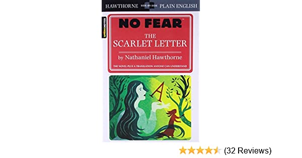 the scarlet letter no fear large print by sparknotes edt 2009 07 10 amazoncom books
