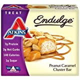 Atkins Endulge Pieces, Peanut Caramel Cluster Bar, 5 Ounce Review