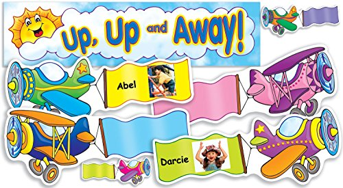 Scholastic Teacher's Friend Up, Up and Away! Mini Bulletin Board (TF8059)
