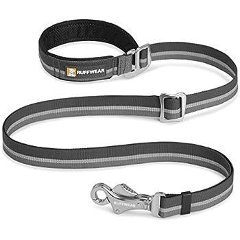 Ruffwear - Slackline Adjustable Length, Hand-Held or Waist-Worn Dog Leash, Twilight Gray