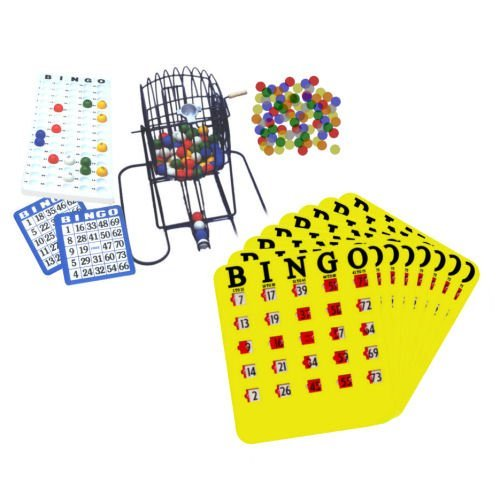 Party Bingo Set with 50 Cards