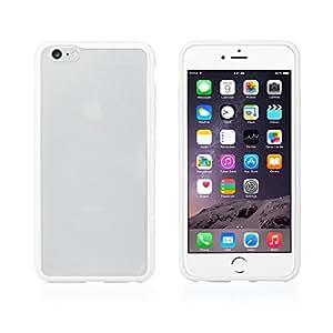 JEBSENS - iMist Series Apple iPhone 6 Case 4.7 inch Premium Crystal Clear Back Shock Absorption Bumper Hybrid Hard Case (White)