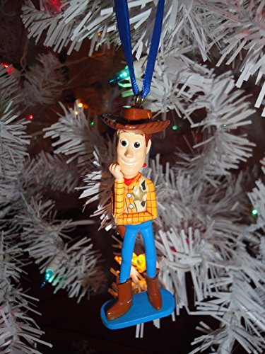 Disney Pixar Toy Story Exclusive Sheriff Woody Holiday Christmas Tree Ornament Action Figure 3