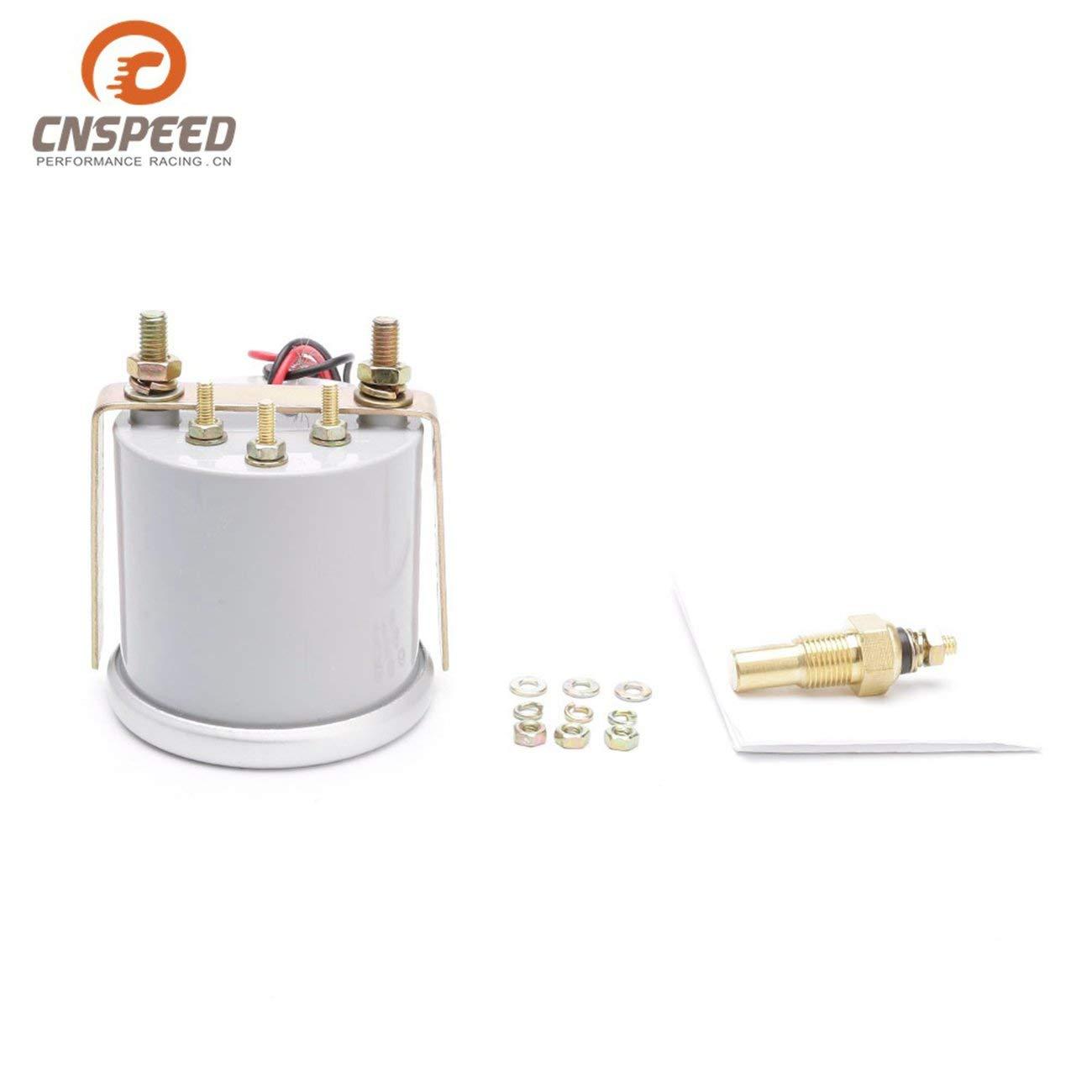Elviray Led Digital Wassertemperaturmesser Thermometer 52 Mm Rauch Objektiv Gm Auto Modifikation