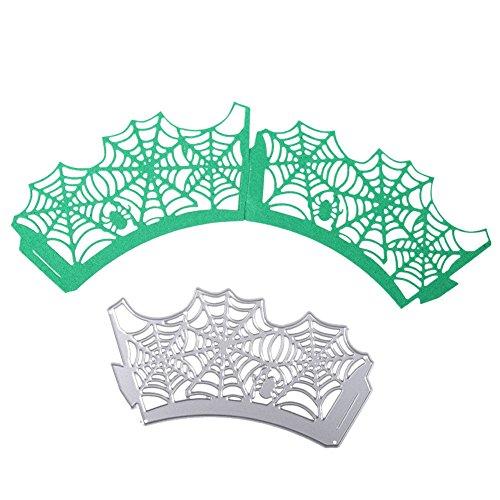 New Halloween Aranha Caso Queque Corte De Metal Morre Estêncil Para Srapbooking DIY Álbum Papel Embossing Cartões de Artesanato Decorativo