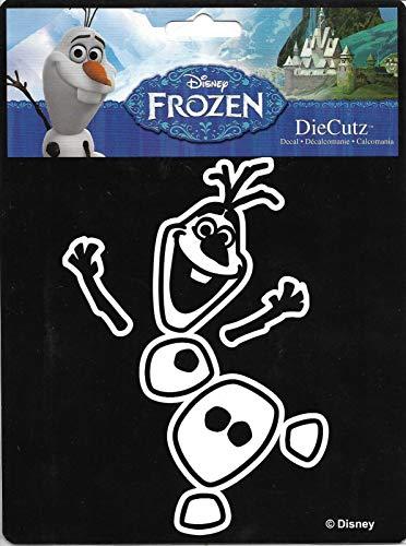 (Chroma 40015 White Olaf Dancing Die Cutz Decal)