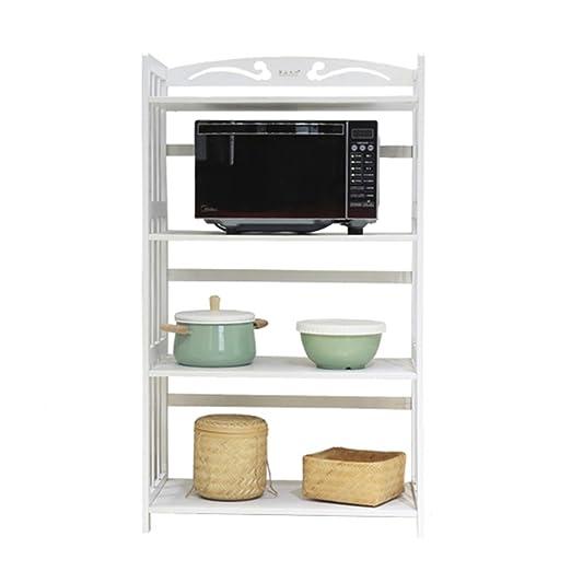 XJLG Microondas Parrilla del Horno Estantes de Cocina, estantes de ...
