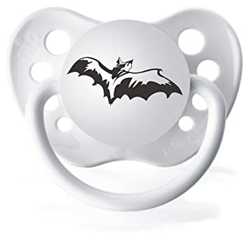 Amazon.com: Halloween Bat Blanco Chupete: Baby