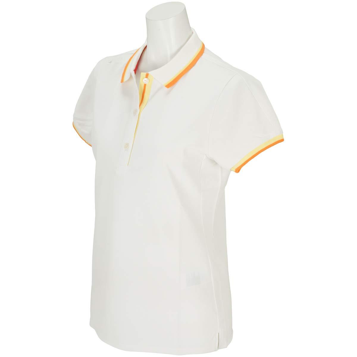 本間ゴルフ HONMA 半袖シャツポロシャツ SIGNATURE LINE 半袖ポロシャツ レディス M ミルキーホワイト B07QKCSRC2