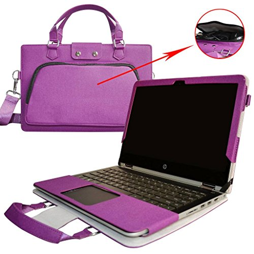 not fit Yoga 900//Yoga 920 Yoga 910 14 Case,2 in 1 Accurately Designed Protective PU Leather Cover ,Purple Portable Carrying Bag for 14 Lenovo Yoga 910 910-13ikb Serise Laptop