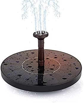 Annt Floating Solar Powered Water Fountain