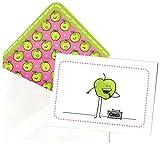 Flavorlopes Box of 10 Apple Flavored Envelopes