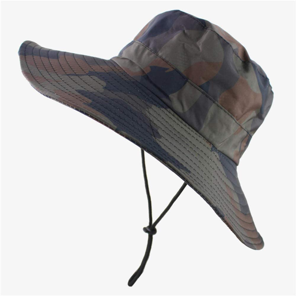 Bucket Hat Waterproof Camouflage Hats Foldable Cap Army Mens Bucket Hat Military Hiking